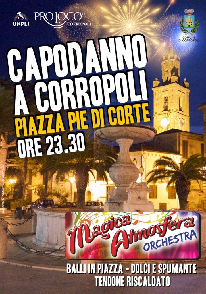 Capodanno 2020 in piazza a Corropoli