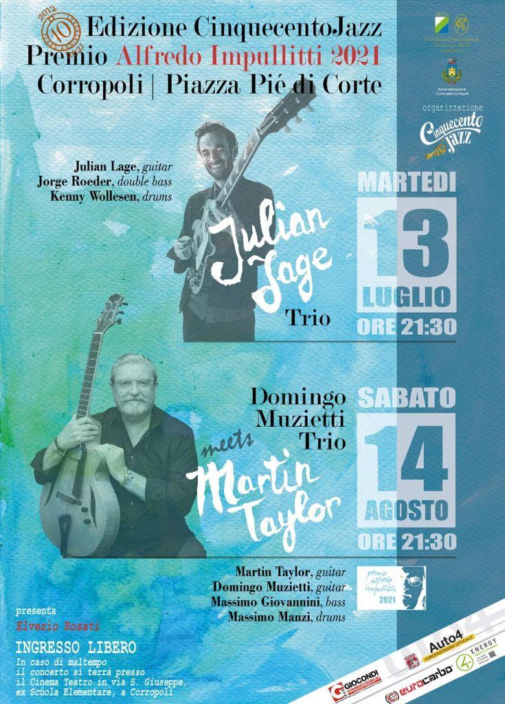 10° Edizione del Cinquecento Jazz Premio