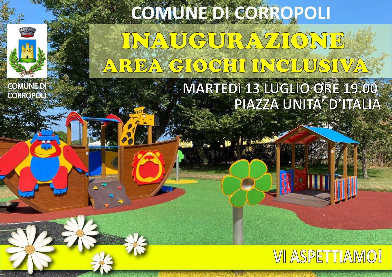 Inaugurazione area giochi inclusivi - Bivio Corropoli