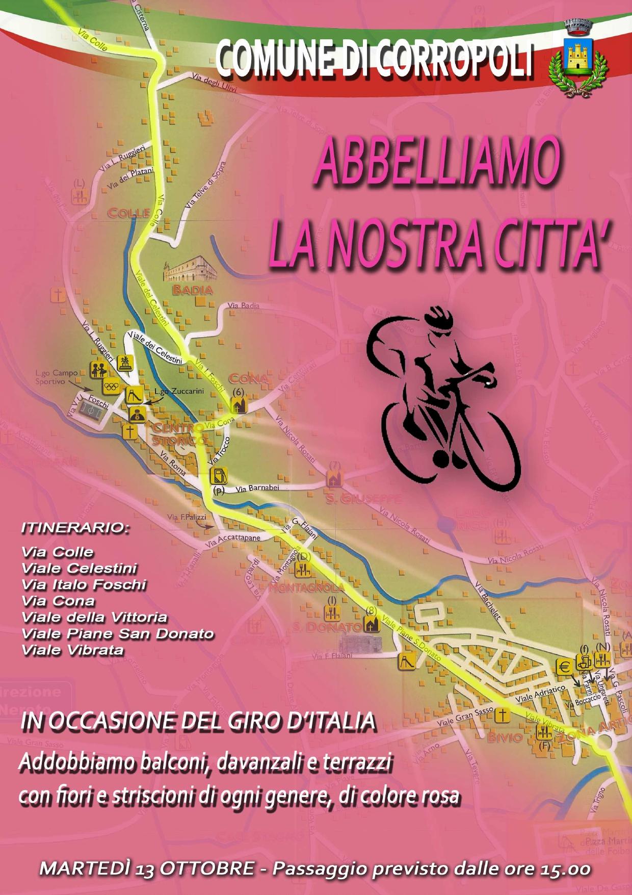 GIRO D'ITALIA - Abbelliamo la nostra