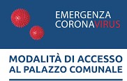 EMERGENZA COVID-19 – Accesso agli uffici comunali