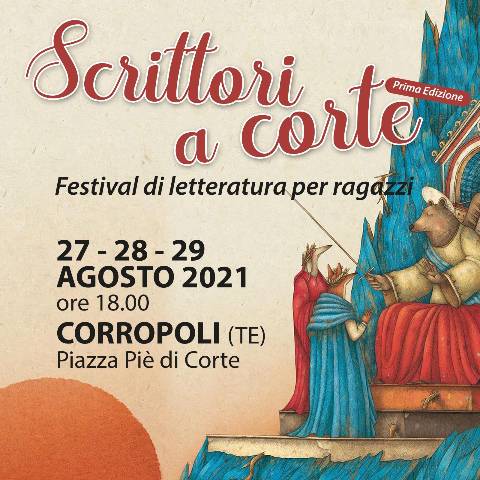 """Corropoli - """"Scrittori a corte"""" Festival di letteratura per ragazzi."""