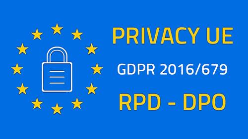 Privacy UE GDPR
