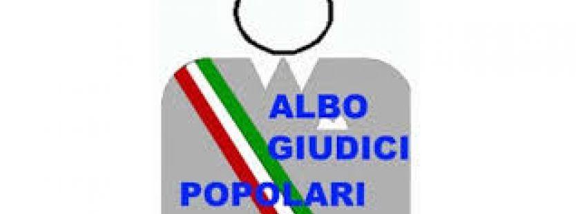 Aggiornamento degli Albi dei Giudici Popolari per le Corti d'Assise e per le Corti d'Assise d'Appello.